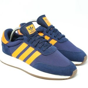 adidas I-5923 Iniki Boost Running Shoe Navy Blue